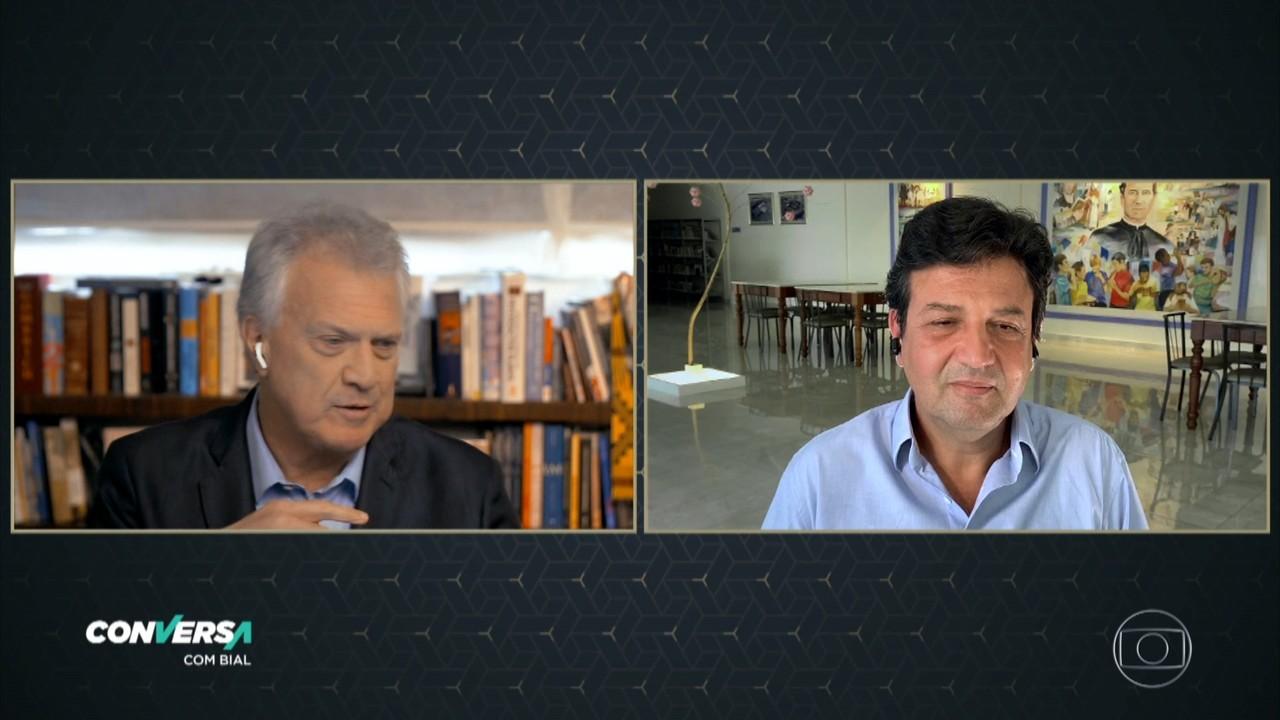 Luiz Henrique Mandetta explica sua demissão