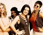 Em 1994, Daniele Valente, Maria Mariana, Deborah Secco e Georgiana Góes estrelaram 'Confissões de adolescente'  na MTV | Reprodução