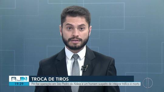PM faz operação em São Pedro da Aldeia e suspeito de tráfico é morto