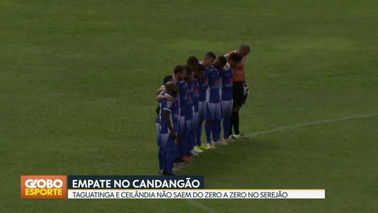 Resumão do Candangão: Gama vence  Santa Maria e segue na liderança isolada