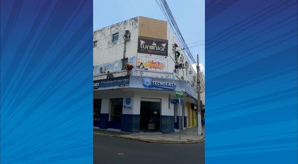 — Foto: Reprodução / TV Cabo Branco