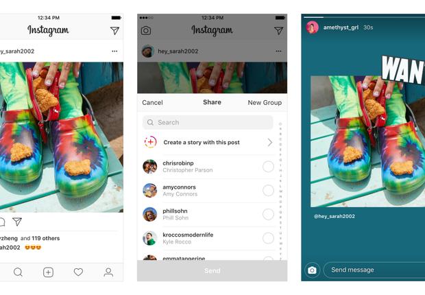 Posts no Instagram agora podem ser compartilhados através do Stories