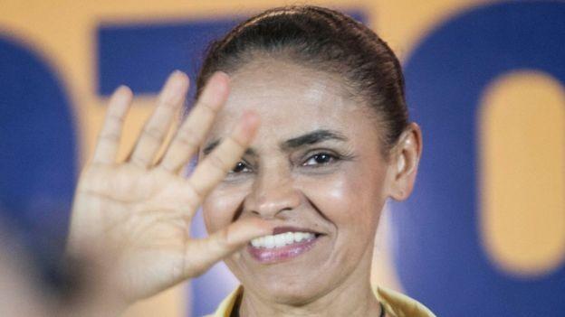 Marina corre o risco de ficar de fora dos debates na TV e deve ter apenas 12 segundos na propaganda eleitoral obrigatória (Foto: REDE SUSTENTABILIDADE via BBC)