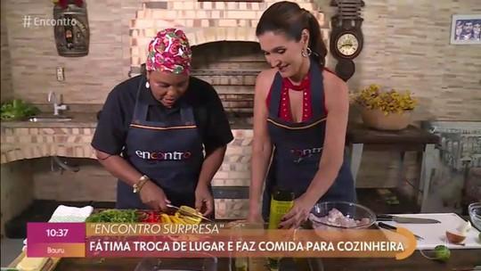Peixe no Forno da Fátima Bernardes