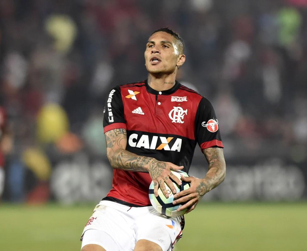 Guerrero preocupa para a Copa do Brasil (Foto: André Durão/GloboEsporte.com)
