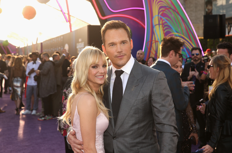 Anna Ferris e Chris Pratt, agora o seu segundo ex (Foto: Getty Images)