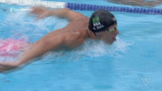 Destaque na natação,Guilherme Maia fala sobre vida pessoal e a carreira