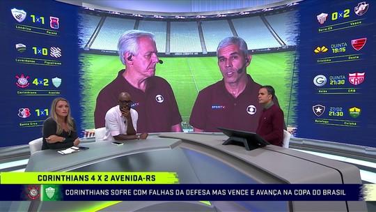 """Milton Leite vê pontos positivos do Corinthians contra o Avenida: """"Sornoza tem sido bom armador"""""""