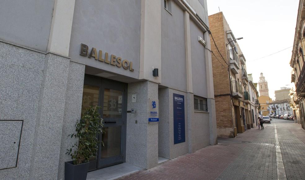 Clínica onde vive Waldo, em Valência (Foto: Alberto Iranzo)