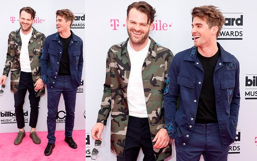 Alex Pall e Andrew Taggart do The Chainsmokers