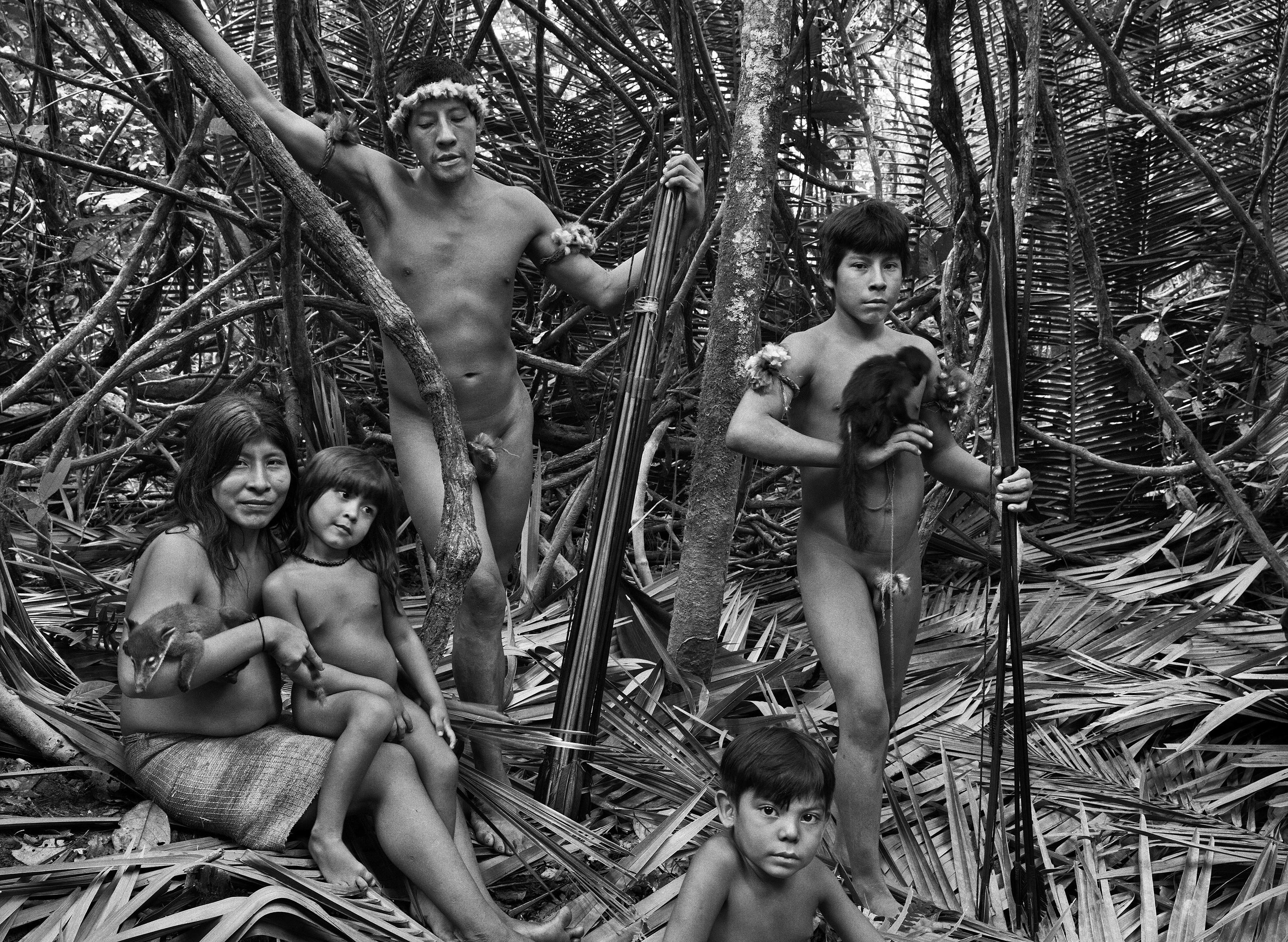 Índios visitados pelo GLOBO, em 2013