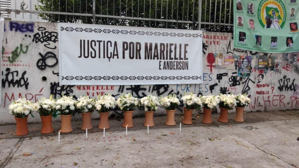 Local do assassinato de Marielle Franco e Anderson Gomes (Foto: Patrick Melo)