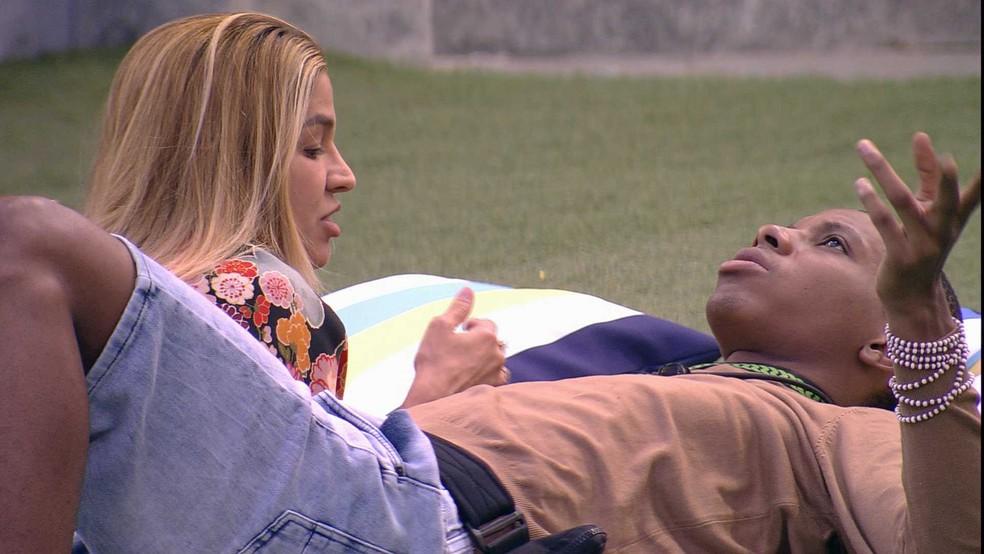 Lucas diz que vai votar  em Kerline se for o Líder — Foto: Globo