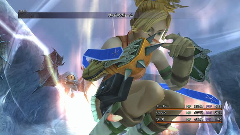 Final Fantasy 10 foi o primeiro com dublagem — Foto: Divulgação/Square Enix