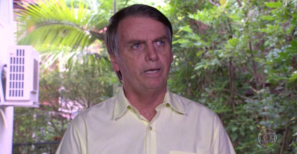 O presidente eleito Jair Bolsonaro — Foto: JN