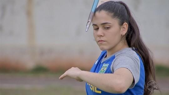Acompanhamos a preparação de Bruna Vieira para os Jogos Escolares da Juventude