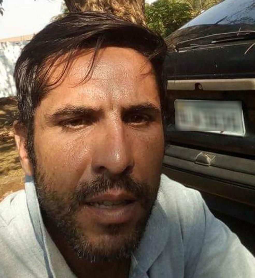 Rodrigo Pereira Alves, de 37 anos, condenado por matar a jovem Mariana Bazza de Bariri (SP) — Foto: TV TEM/Reprodução