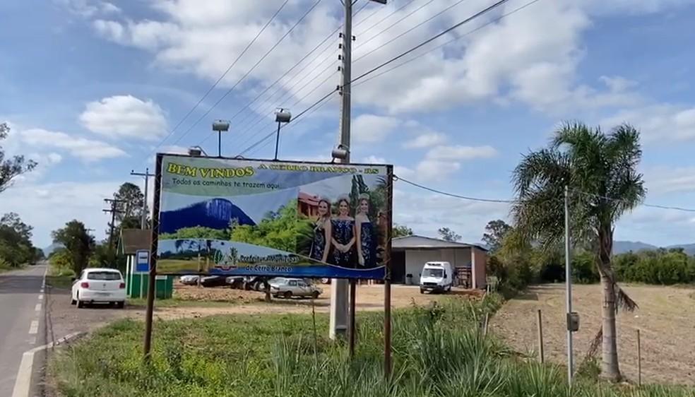 Cerro Branco, no Rio Grande do Sul — Foto: Prefeitura de Cerro Branco/Divulgação