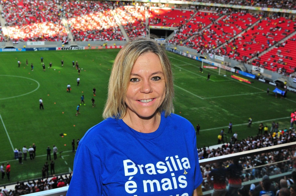 Secretária de Turismo do DF, Vanessa Mendonça, em imagem de arquivo — Foto: Acácio Pinheiro/Agência Brasília