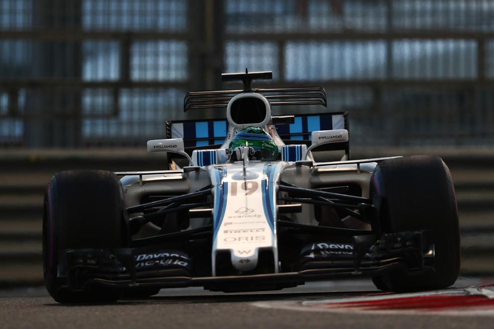 Felipe Massa guiou o carro da Williams no fim da carreira — Foto: Getty Images