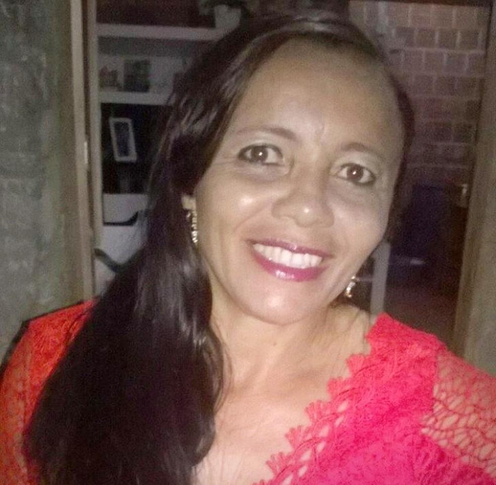 Maria do Socorro Ferreira Oliveira tinha 50 anos — Foto: Arquivo da família
