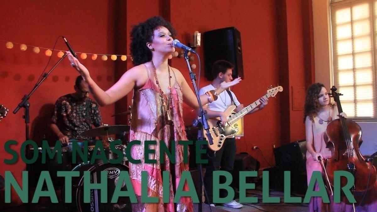 Nathalia Bellar canta ciclo da vida e apresenta 'Catavento' no Som Nascente