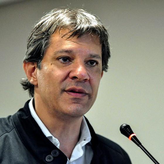 O candidato a reeleição a prefeitura de São Paulo Fernando Haddad (Foto:  Brazil Photo Press)