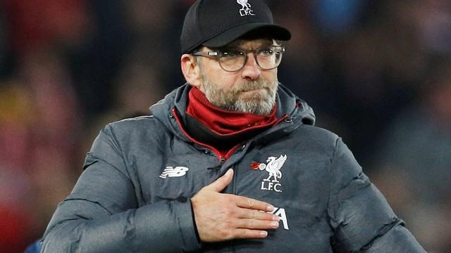Jürgen Klopp é a principal razão para o Liverpool ter 94,4% de aproveitamento nesta temporada da Premier League