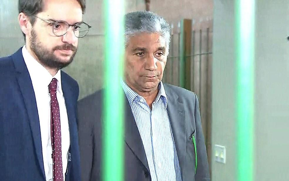 Paulo Vieira de Souza é solto após decisão do ministro Gilmar Mendes (Foto: Reproduçaõ/TV Globo)