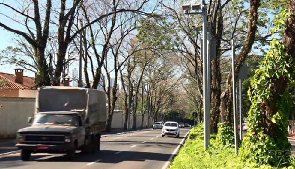 De janeiro a outubro deste ano, a Prefeitura de Maringá arrecadou R$ 18 milhões com multas de trânsito. (Foto: RPC/Reprodução)