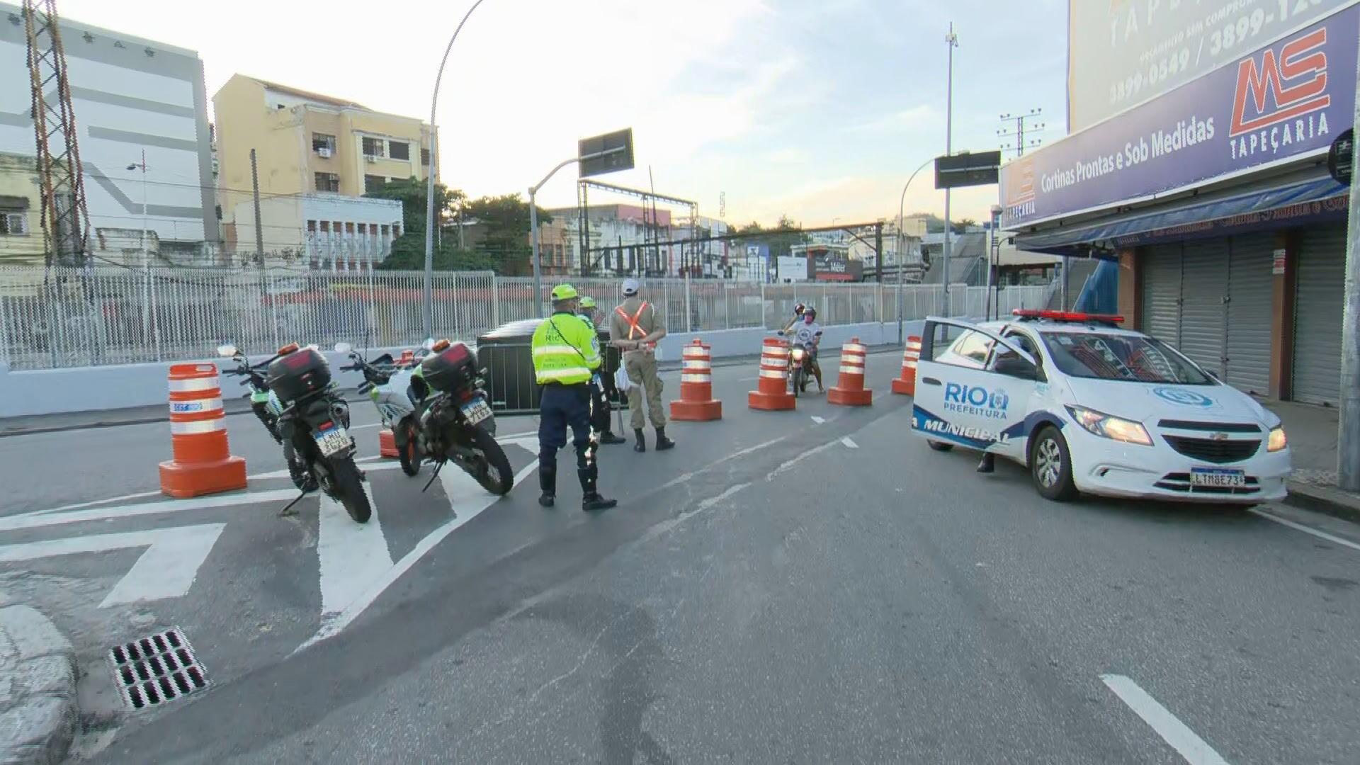Prazo para bloqueios de circulação em bairros do Rio termina nesta segunda-feira