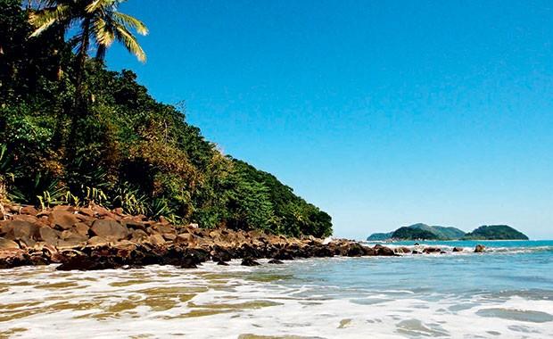 Praia de Camburi: para Denise, o Litoral Norte de São Paulo é ainda mais bonito do que o Havaí (Foto: Getty Images)