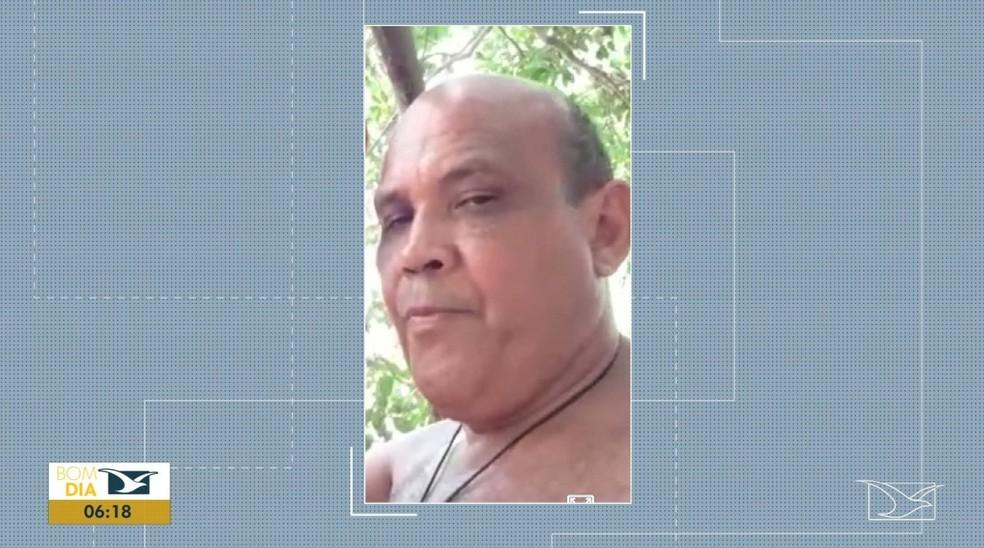 Homem identificado como Claudemir foi preso pela Polícia Militar no último sábado (21). — Foto: Reprodução/ TV Mirante