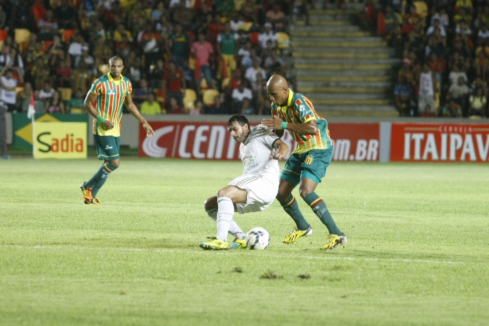 Palmeiras não vence há dois jogos no Castelão — Foto: Honório Moreira/VIPCOMM