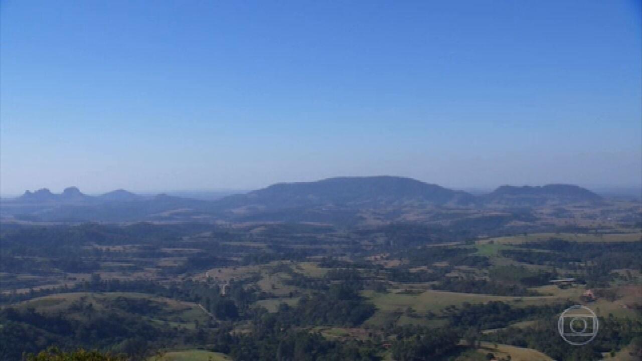 Globo Repórter viaja por belas paisagens no interior de São Paulo