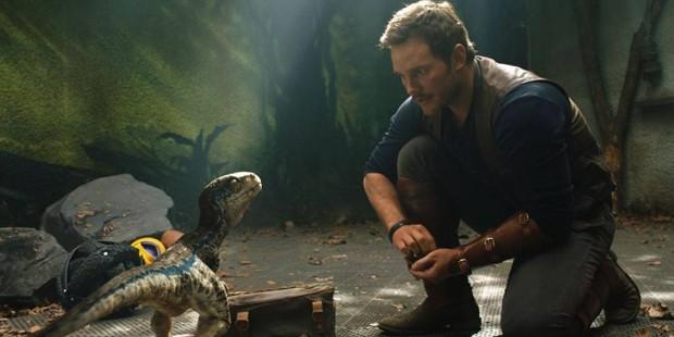 Chris Pratt mostra bastidores de 'Jurassic World: Reino Ameaçado'  (Foto: Universal Pictures/Divulgação)