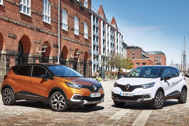 Renault Captur Facelift (Foto: Divulgação)