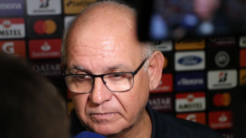 Romildo Bolzan, presidente do Grêmio — Foto: Eduardo Deconto/GloboEsporte.com