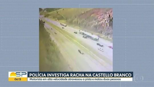 VÍDEO mostra acidente com 4 carros e 3 mortos em rodovia