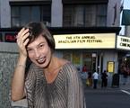 Maris Paula foi a NY para participar do festival de cinema | Luiz Ribeiro