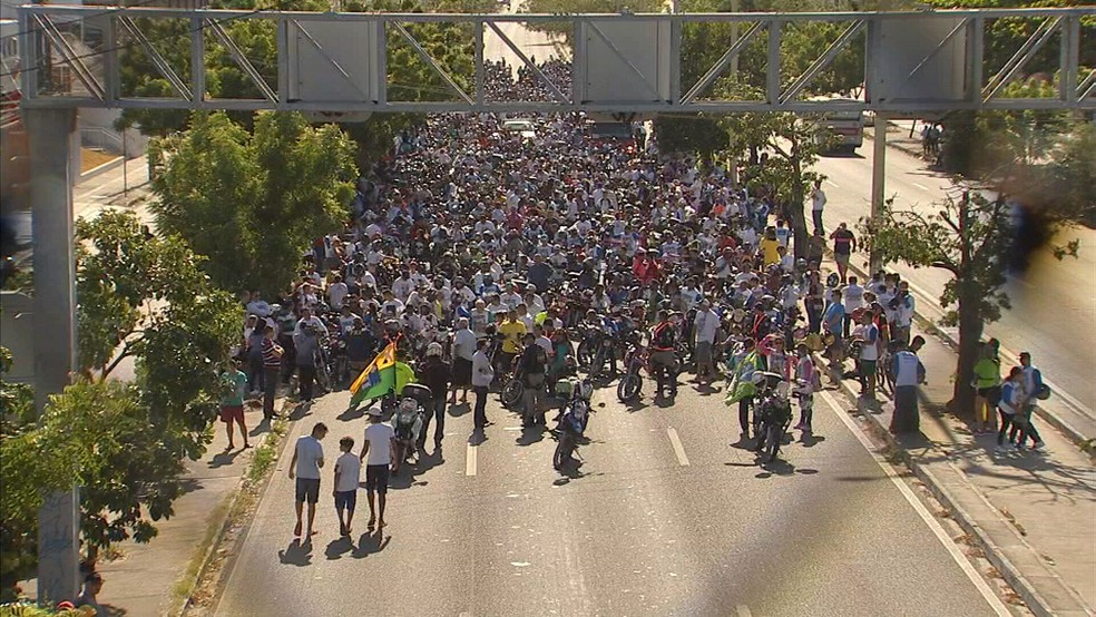Motorromaria 2017 (Foto: TV Verdes Mares/Reprodução)
