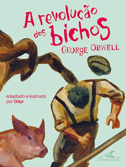 Quadrinhos de A Revolução dos Bichos (Foto: Divulgação)