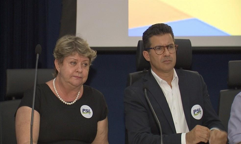 Candidato quer o desenvolvimento do estado a partir da iniciativa (Foto: TV Verdes Mares)