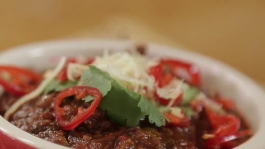 Chili Beans com Carne