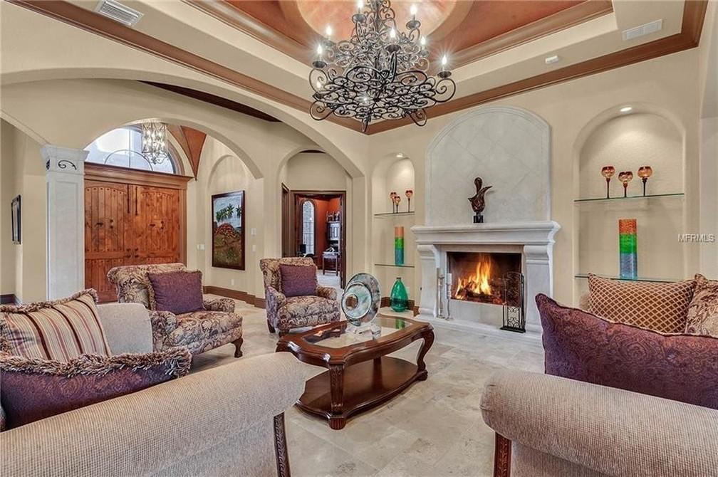 Casa de Gugu Liberato em Orlando tinha 6 cômodos — Foto: Reprodução: Realtor.com