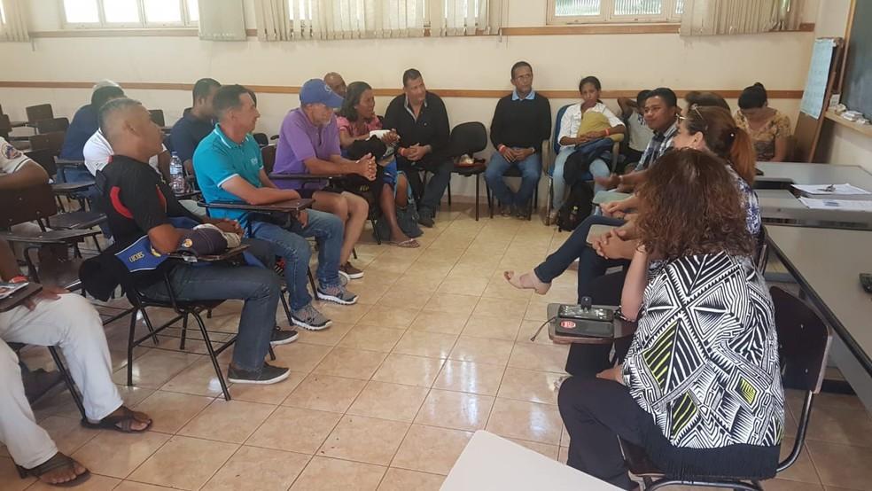 Venezuelanos são acolhidos pela Pastoral do Migrante (Foto: Pastoral do Migrante)