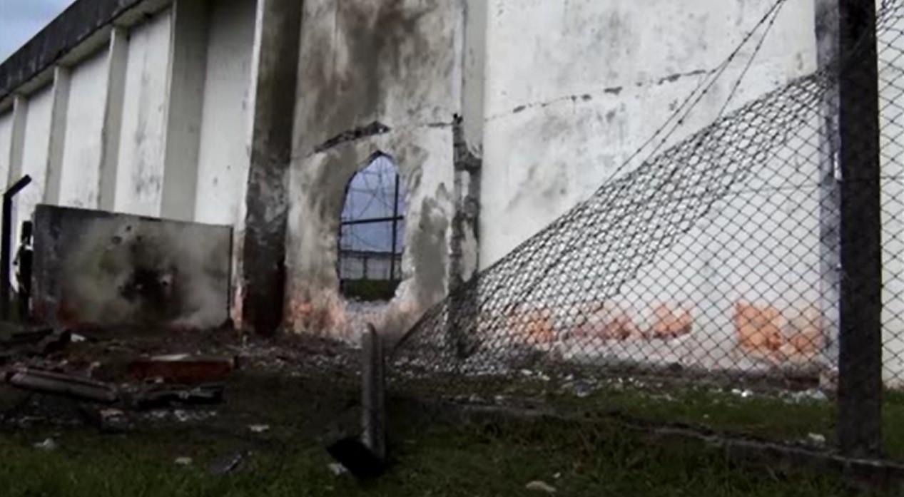 Imagens e áudios mostram como quadrilha usou bombas e fuzis para invadir penitenciária e soltar presos no PR - Noticias