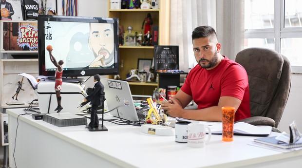 Igor Morais, fundador da Kings, rede que faturou R$ 40 milhões em 2017 (Foto: Divulgação)