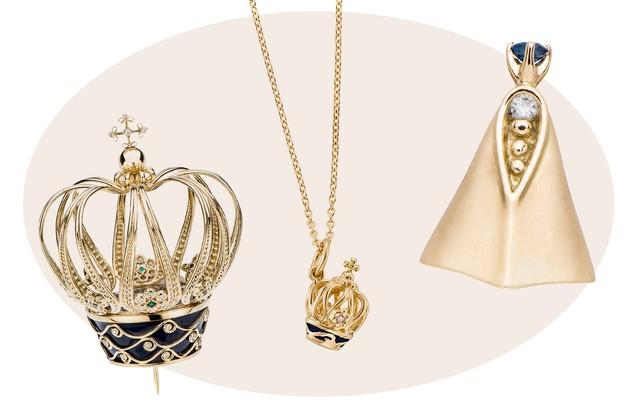 Nossa Senhora Aparecida Joias: Nossa Senhora Aparecida Ganha Coroa De Ouro Criada Pela H