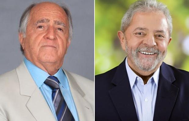 Ary Fontoura e Lula (Foto: Globo/Site Oficial)